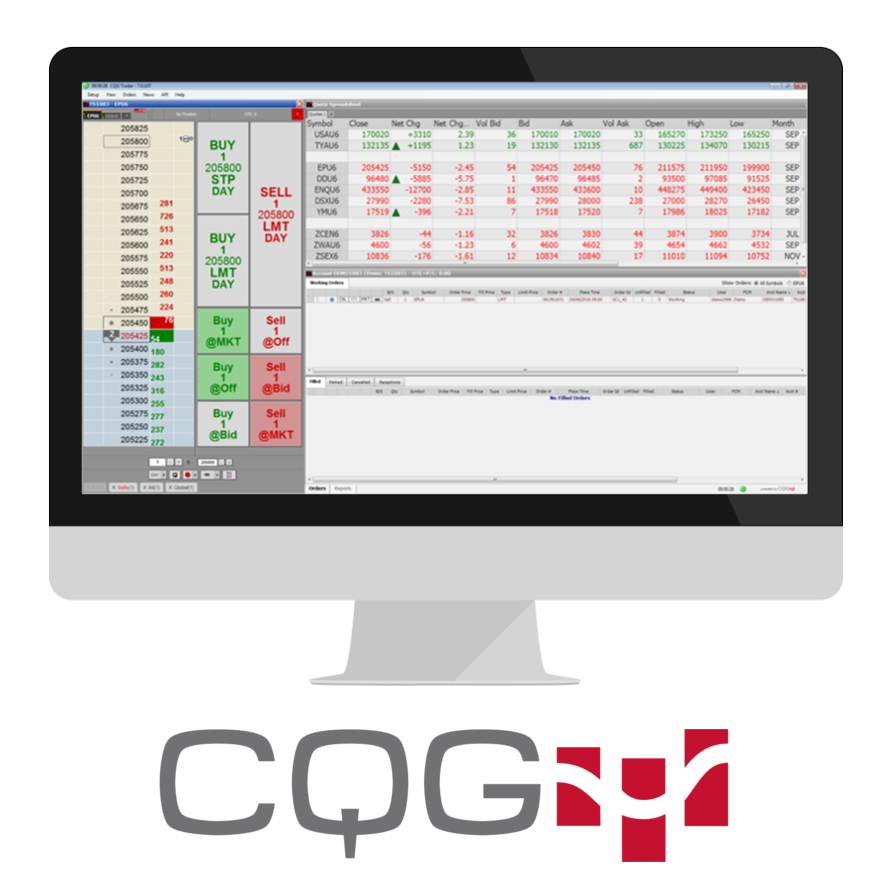 Cqg trader options