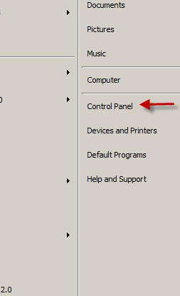 Corrupted Workspace - How to Open Control Panel