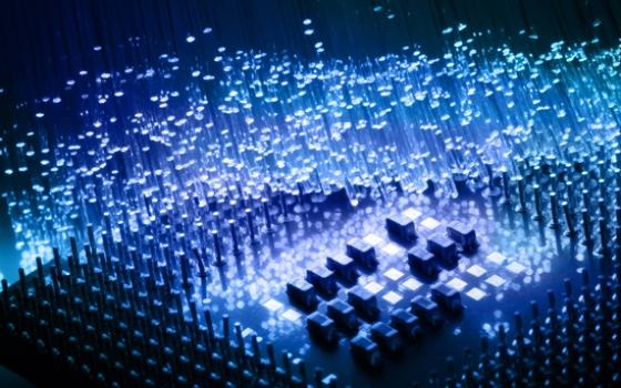 High tech technology backgroundnd